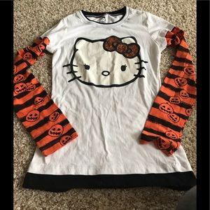 Hello Kitty Halloween Top